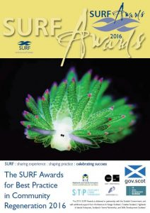 Shortlisted SURF Awards projects are showcased in an annual publication