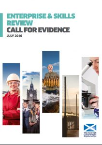 SURF responded to a consultation on Scotland's enterprise & skills agencies in 2016