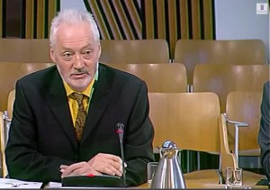 SURF Chief Executive Andy Milne gave evidence to the Committee's procurement reform evidence session in November 2013