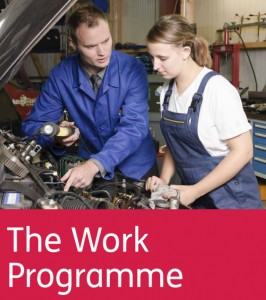 The Work Programme was launched in 2011