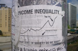 Rising income inequality is a growing concern for economic development policy-makers