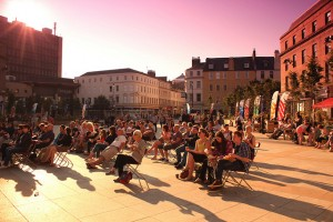 Creative Dundee is making an impact through public events like outdoor film screenings