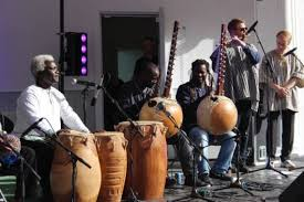 Scotland's Ha Orchestra were among the diverse musicians performing at the Commonwealth Games Cultural Programme