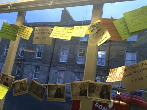Dundee residents consider what it means to be a city of design at the Pop Up Design Cafe