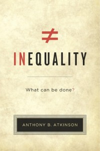 'Inequality' author & Oxford University economist Anthony Atkinson is a keynote speaker