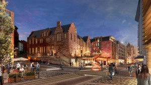 The £150m New Waverley development will 'transform a tired area of the city centre'