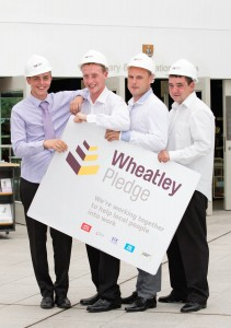 Employability initiative Wheatley Pledge won a 2015 SURF Award