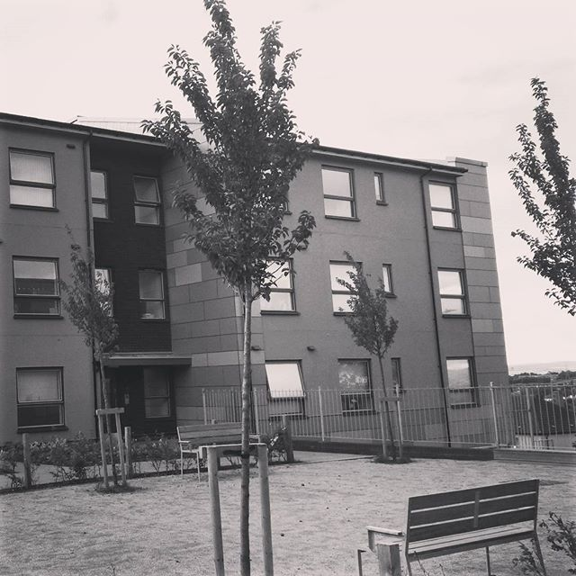 New housing in north Glasgow