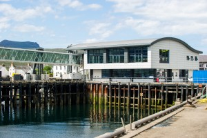 Ullapool Harbour is an example of large-scale infrastructure in community ownership