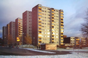 One of the Million Homes areas is the town of Fittja near capital Stockholm